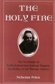 Cover of: The Holy Fire by Nehemia Polen