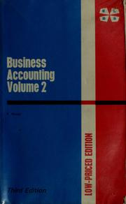 Cover of: Business accounting | Frank Wood