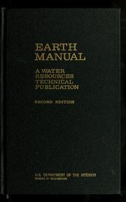 Cover of: Earth manual | H.E. Kisselman