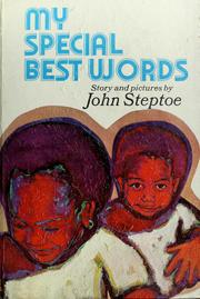 Cover of: My special best words by John Steptoe