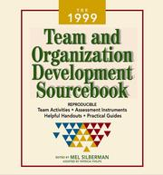 Cover of: The 1999 Team and Organization Development Sourcebook | Mel Silberman