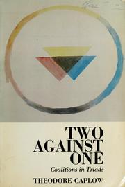 Cover of: Two against one | Theodore Caplow