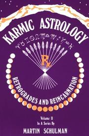Cover of: Karmic Astrology by Martin Schulman