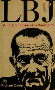 Cover of: LBJ | Michael Davie