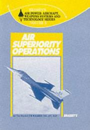 Cover of: Air superiority operations by Walker, J. R.
