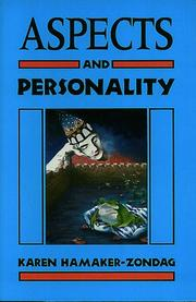 Cover of: Aspects and personality | Karen Hamaker-Zondag