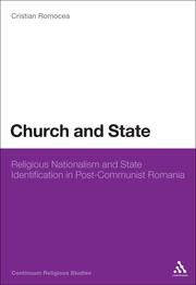 Cover of: Church and state by Cristian Romocea