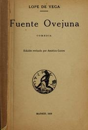 Cover of: Fuente Ovejuna by Lope de Vega