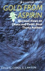 Cover of: Gold from aspirin | Carol S. Lawson