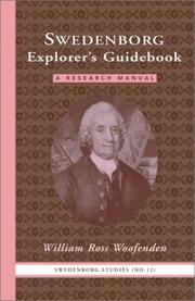 Cover of: Swedenborg explorer's guidebook by William Ross Woofenden