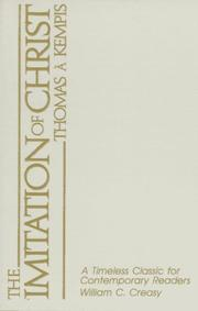 Cover of: The Imitation of Christ | Thomas à Kempis