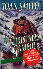 Cover of: Christmas Gambol by Joan Smith