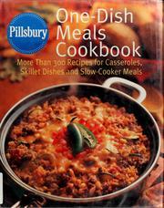 Pillsbury, one-dish meals cookbook