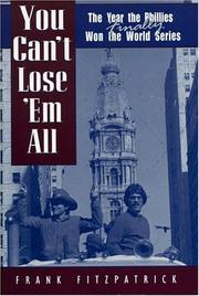 Cover of: You Can't Lose 'Em All by Frank Fitzpatrick