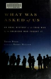 Cover of: What was asked of us | Trish Wood
