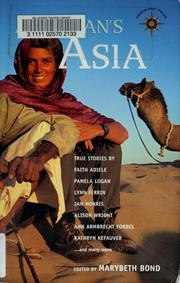 Cover of: A woman's Asia | Marybeth Bond