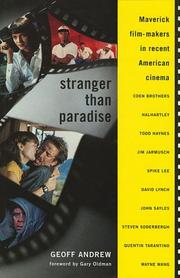 Cover of: Stranger Than Paradise | Geoff Andrew