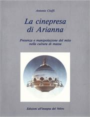 Cover of: La cinepresa di Arianna by Antonio Cioffi