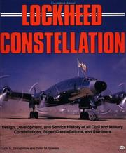 Cover of: Lockheed Constellation | Curtis K. Stringfellow