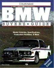 Cover of: Illustrated BMW buyer's guide | Gross, Ken