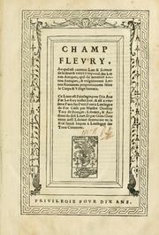 Champ Flevry