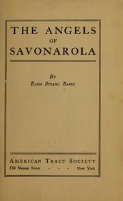 The angels of Savonarola