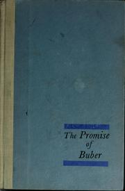 Cover of: The promise of Buber | Lowell D. Streiker