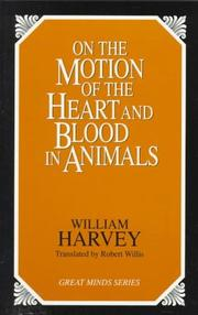 Cover of: De motu cordis | Harvey, William
