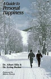 Cover of: Guide to Personal Happiness | Albert Ellis