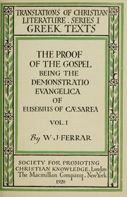 The Proof of the Gospel