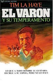 Cover of: El Varón Y Su Temperamento | Tim F. LaHaye