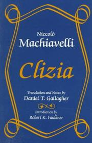 Cover of: Clizia | Niccolò Machiavelli