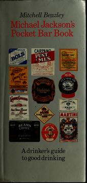 Cover of: Michael Jackson's pocket bar book by Michael Jackson