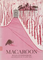 Cover of: Macaroon | Julia Cunningham