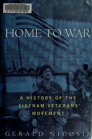 Cover of: Home to war by Gerald Nicosia
