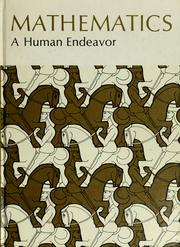Cover of: Mathematics, a human endeavor | Harold R. Jacobs