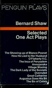 Selected one act plays