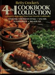 Betty Crocker's 4 in 1 cookbook collection