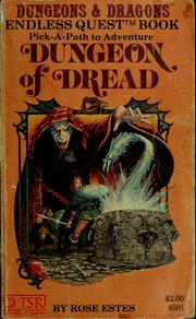Cover of: Dungeon of dread | Rose Estes