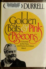 Cover of: Golden bats and pink pigeons | Gerald Malcolm Durrell