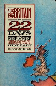 Cover of: Great Britain in 22 Days | Rick Steves