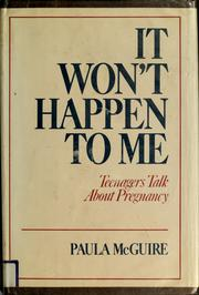Cover of: It won't happen to me | Paula McGuire