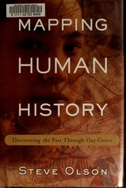 Cover of: Mapping human history | Steve Olson