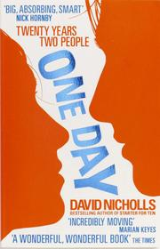 Cover of: One day by Nicholls, David