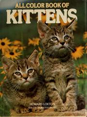 Cover of: All color book of kittens | Howard Loxton