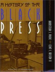 Cover of: A history of the Black press by Armistead Scott Pride