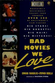 Cover of: Bad Movies We Love | Edward Margulies