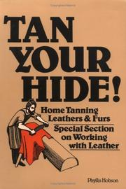 Cover of: Tan your hide! | Phyllis Hobson