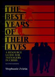 Cover of: The best years of their lives | Stephanie Zvirin