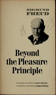 Cover of: Beyond the pleasure principle | Sigmund Freud